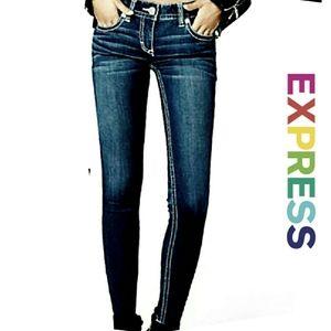Express Stella Low Rise Legging Jeans 6R